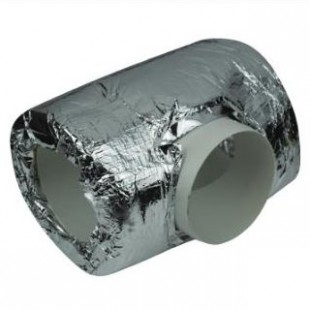 25mm pre-insulated ducting